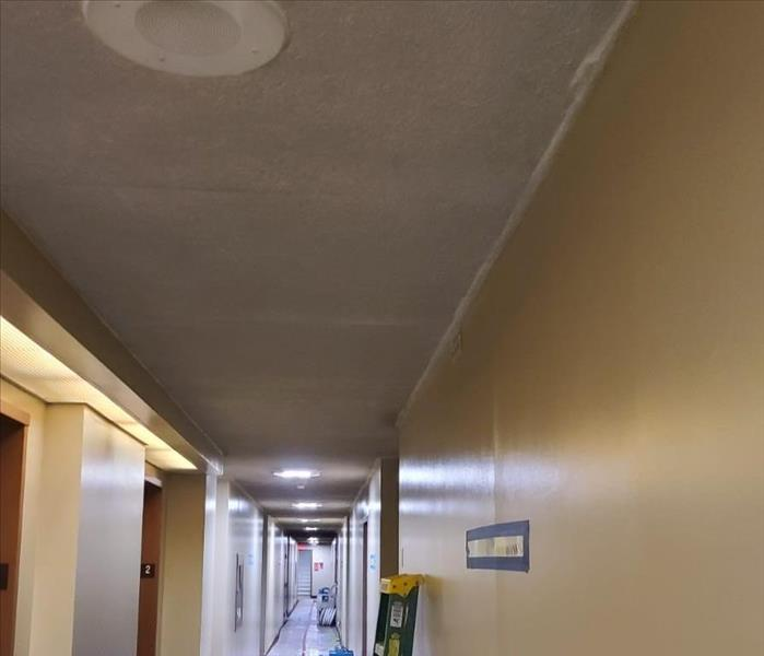 Fire and soot damage after clean up and restoration by SERVPRO of Richmond Hill- After Photo