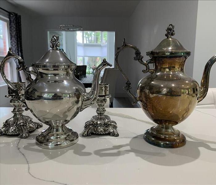 Vintage and Antique Silver Planters, Teapots, Coffee Pots & Sets restoration