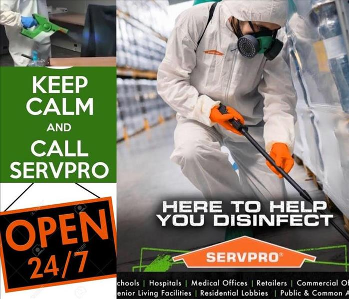 We are Open 24/7- Fire, Water, Mold Clean up and Restoration and Virus Disinfectant